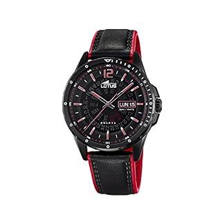 Lotus Watches Reloj Análogo clásico para Hombre de Cuarzo con Correa en Cuero 18525/3
