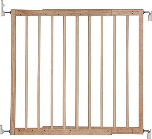 IB-Style - Treppengitter / Türgitter KIM | Spannbreite: 63 - 103.5 cm | zum Schrauben | aus massivem Holz - Natur