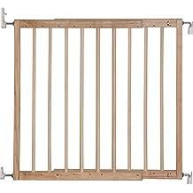 IB-Style - Cancello di sicurezza / Cancelletto securella KIM | 63 -103.5 mm | sigillato doppio | a vite | legna naturale