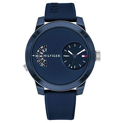 Reloj de Hombre Tommy Hilfiger 1791556 Digital y analógico de Silicona
