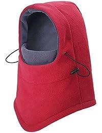 Roffatide Unisex Vlies Sturmhauben Nackenschutz Warme Maske Schlupfmütze Schalmütze Klettern Camping Radfahren Wintermütze