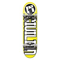 """Team"" Icon لوح تزلج كامل 7. 75"" صنع في كاليفورنيا، أصفر"