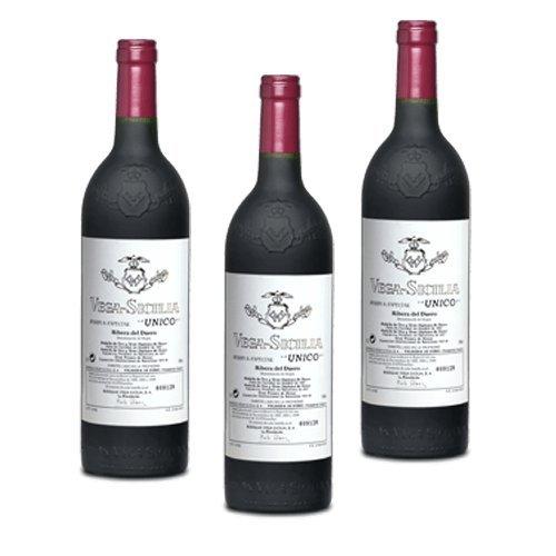 Vega Sicilia Unico - Rotwein - 3 Flaschen