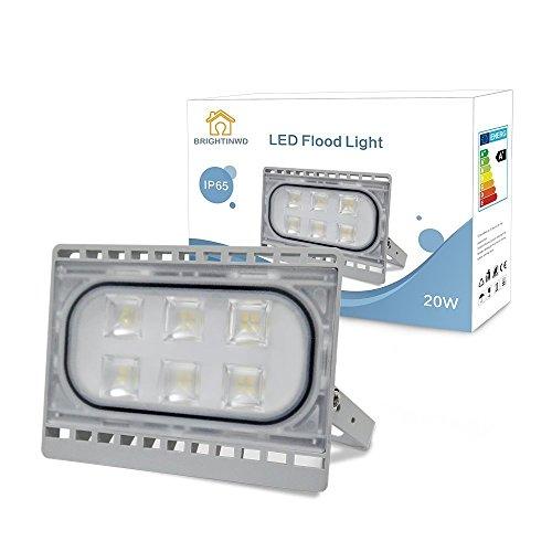 50W Floodlight 3700LM Superhelles Tageslicht Weiß 6000K IP 65 Wasserdichtes Sicherheitslicht für Indoor & Outdoor
