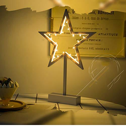 LEDMOMO LED Sternform Licht Stern Led Nachtlicht Kinder Nachtlampe für Chrismas Party Hochzeit Room Decor (Star Style)