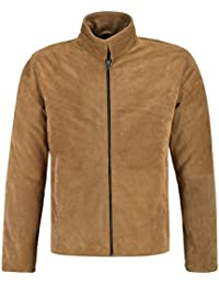 Smart Range Daniel Craig James Bond Mens Camel Brown Real Suede Leather Morocoo Movie Spector Boluson Jacket