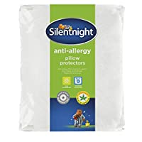 Silentnight Anti-Allergy Pillow Protector, Pack of 2