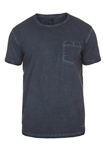 !Solid Teil Herren T-Shirt Kurzarm Shirt mit Rundhalsausschnitt aus 100{4964404e724a25fd6e647beb1a95e514a4757d803ac903ead0534132f89206aa} Baumwolle, Größe:S, Farbe:Insignia Blue (1991)