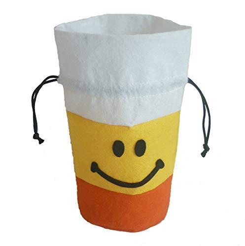 TAOtTAO Candy Storage Halloween-Nette Hexen-Süßigkeits-Tasche, die Kinderpartei-Speicher-Beutel-Geschenk Verpackt (Gelb)
