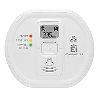 Ei Electronics Ei208D 10-Jahres-Kohlenmonoxidwarnmelder, mit Display