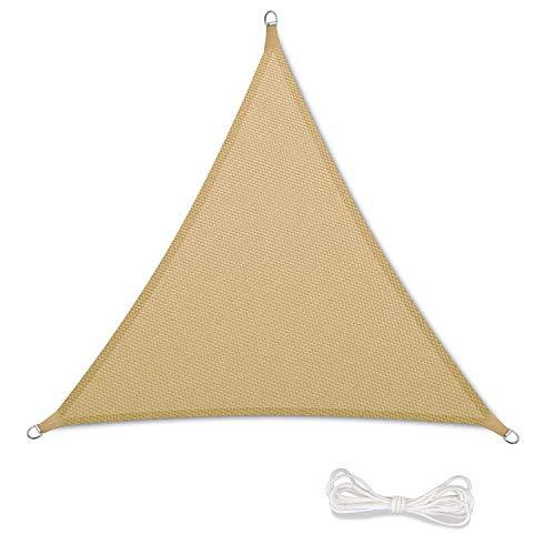 Tende Per Ombrelloni Da Giardino.Tenda A Vela Parasole Ombrelloni Da Giardino Impermeabile Protezione Antivento Con Uv Protezione Per Terrazza Campeggio Cortile Con Corda Libera