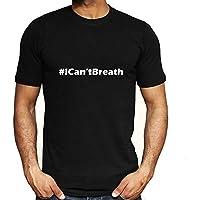 Negro Vive la Materia-I No Puedo Respirar Hombres Mujer Libertad Civil Derechos Tops Camiseta Corto Manga Blusas 5-Styles / A2 / L