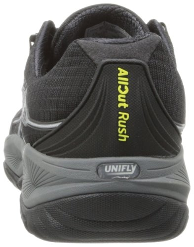 Merrell Allout Rush, Chaussures de trail homme Noir (Black/Lime)