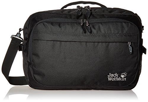 Jack Pot (Jack Wolfskin Jack.Pot DE Luxe Bag Umhängetasche, Black, 47 x 33 x 7 cm)