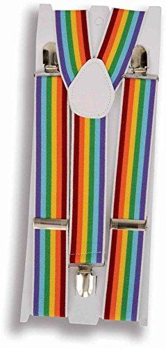 ex Rainbow Strapse, One size (Group Halloween-kostüme Für Erwachsene)