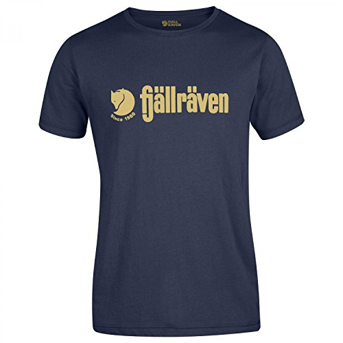 Fjällräven Herren Retro T-Shirt, Dark Navy, XL