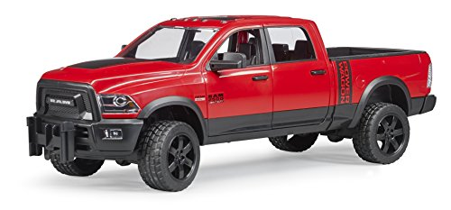 BRUDER-02500-Vhicule-RAM-2500-Power-Wagon-Rouge