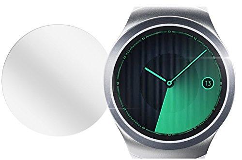 dipos I 6X Schutzfolie klar passend für Samsung Gear S2 Folie Bildschirmschutzfolie