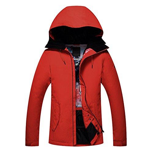 gsousnow ski - jacke bluse, winddicht, atmungsaktiv, warm, dünnen ski tragen,l,orange