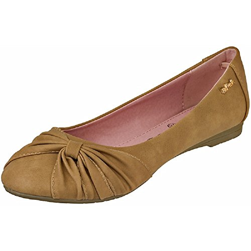 Refresh Women Geschlossene Ballerinas 77960 taupe