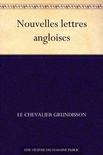 Couverture du livre Nouvelles lettres angloises