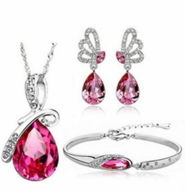 Kanggest.Jewelers Conjuntos Collar Pendientes Mujer