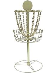 DGA Mini Trophy Disc Golf Basket (Gold)