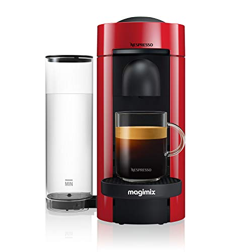 Nespresso 11389 Vertuo Plus Special Edition, by Magimix, Coffee Capsule Machine, ABS, 1260 W, Red