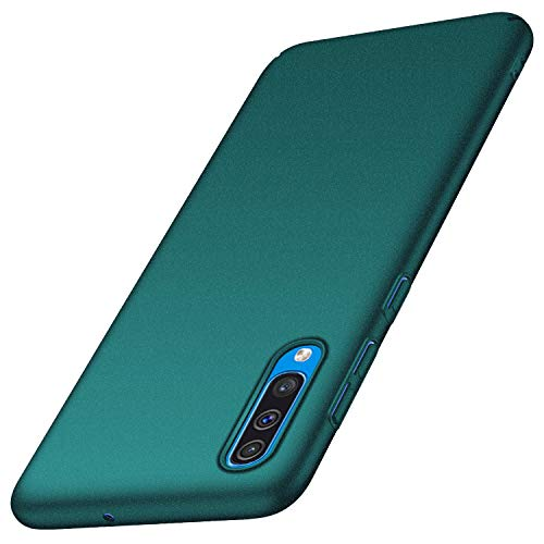 anccer Cover Samsung Galaxy A50, [Alta qualità] [Ultra Slim] Anti-Scratch Hard PC Case Custodia per Samsung A50 (Ghiaia Verde)