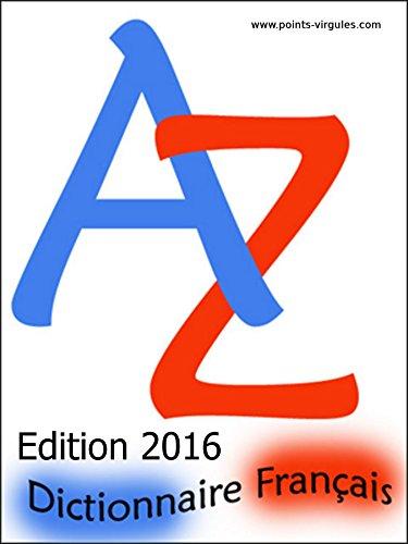 Dictionnaire français pour jeux de lettres par Vincent Garand