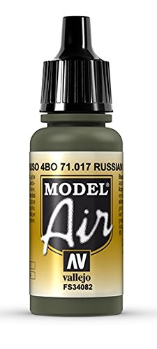 Vallejo Model Air Acrylfarbe, 17 ml Russian Green