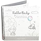 Baby Milestone Journal Keepsake Toddler Newborn Shower Christening Gift Diary