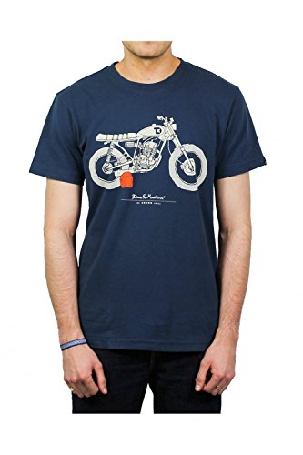 Deus ex machina -  T-shirt - Uomo Blu blu