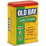 McCormick's Old Bay Seasoning GARLIC AND HERBS 74g (pack of 1)