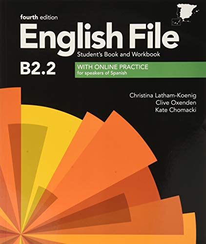 English File 4th Edition B22 Student's Book and Workbook without Key Pack (English File Fourth Edition)