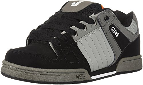 DVS Shoes Premier +, Zapatillas para Hombre, Negro (Black White Knit 001), 44.5 EU