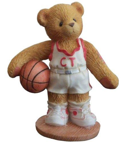 Cherished Teddies  LARRY - BASKET BALL PLAYER