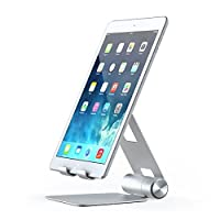 Satechi R1 Aluminum Multi-Angle Foldable Tablet Stand - Compatible with 2019 iPad/2018 iPad Pro, iPhone 11 Pro Max/11 Pro, Xs Max/XS/XR/X, 8 Plus/8, Samsung S10 Plus/S10