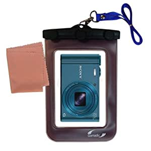 Sony Cybershot WX300 compatible Gomadic Weatherproof Case Protection Designed Camera with Unique FloatableDesign
