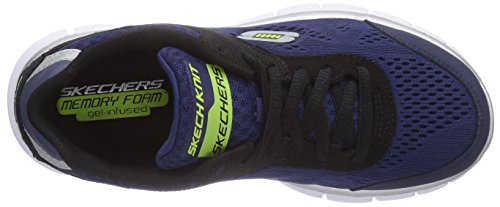 Skechers Synergy Power Shield 95496L, Jungen Sneakers Schwarz (Bknv)