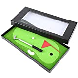 Jadeshay Golf Stift Set-Mini Golf Clubs Kugelschreiber Flag Matte Set Schreibwaren Dekorationen...