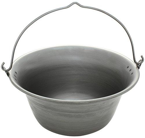 Ungarischer Gulaschkessel Gulaschtopf Topf aus Eisen 6 Liter
