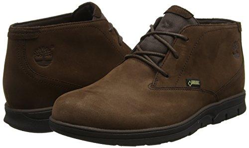 Timberland Men s Bradstreet Waterproof Goretex Chukka   Dark Brown   8 5 UK 43 EU