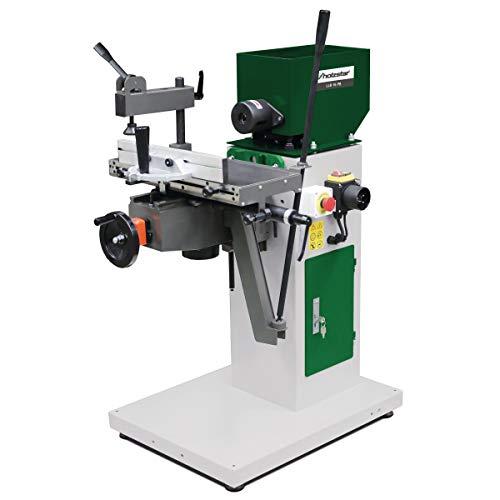 Langlochbohrmaschine LLB 16 PB (230 V) Kostengünstiges und kompaktes Modell mit Rechts-Linkslauf, Gehrungsanschlag und Dübelbohreinrichtung