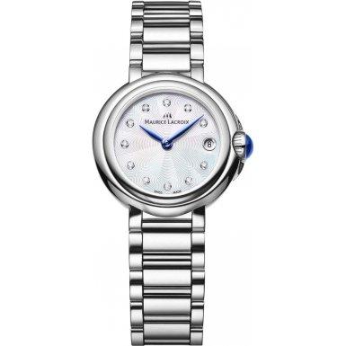 Maurice Lacroix FA1003-SS002-170-1 Ladies Fiaba Silver Steel Bracelet Watch