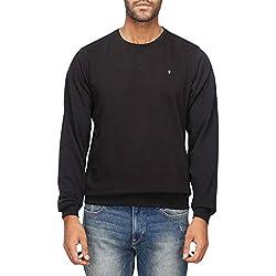 LP Jeans Mens Cotton Sweatshirt (8907545895462_LRST517R06116_Medium_Medium Black)