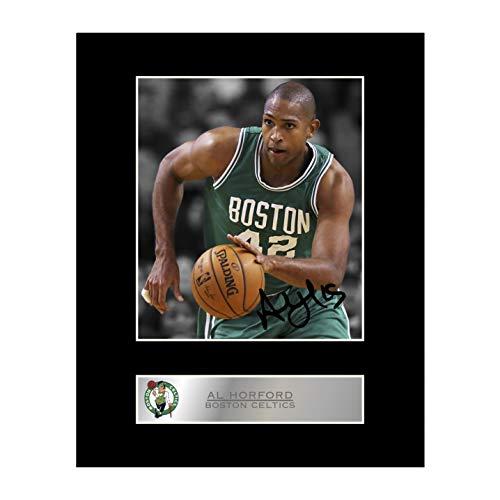 the best attitude 4b33c d6bdd Al Horford firmado foto enmarcada Boston Celtics