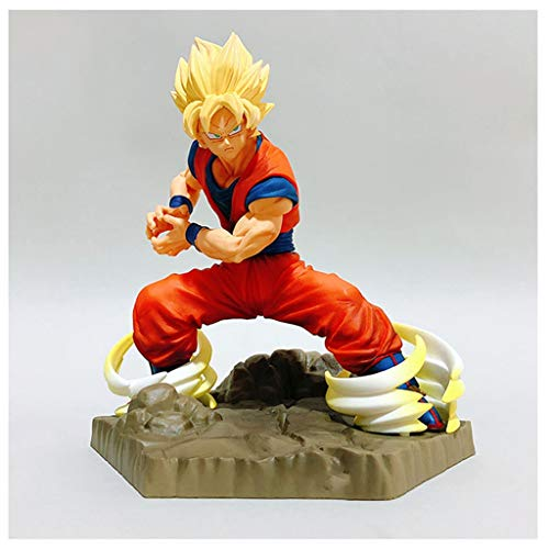 AmityL Dragon Ball Juguete Estatua Super Saiyan Sun Wukong Exquisito Juguete Estatua-18CM Estatua de Juguete