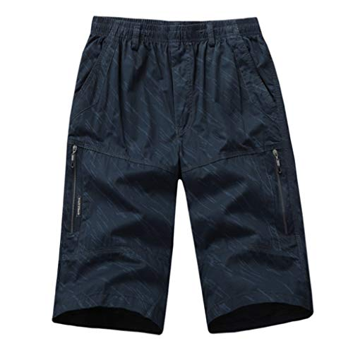 Shorts Herren Sommer Pure Farbe Overall Draußen Lose Sport Kurz Hose - Camo Knit Beanie