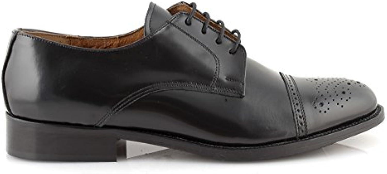 Scarpe uomo eleganti pelle nere classiche francesine derby cerimonia sposo made in italyDAMFR0011 | Ordine economico  | Uomini/Donne Scarpa
